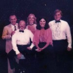1979 Four for the Road cast with Joe Negri at East West Restaurant