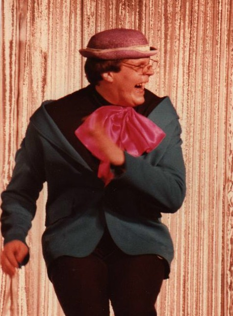 1983 Movers and Shakers Tim Hartman as Ed Wynn
