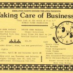 1984 Taking Care of Business 1 flyer