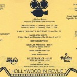 1986 Hollywood in Revue 1flyer