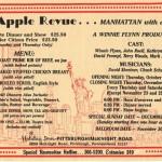 1989 Big Apple Revue flyer
