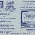 1989 Down the Tube Again flyer