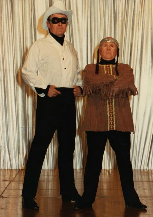1990 Sidekicks 3 The Lone Ranger and Tonto