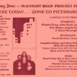 1991 Here Today Gone to Pittsburgh flyer