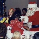 1993 1 Santa arrives at Kaufmann's show