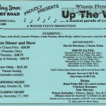 1993 Up the Wall 1 flyer