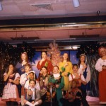 1994 Christmas Around the World singing and signing