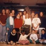 1994 Christmas cast